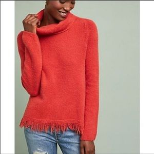 ANTHROPOLOGIE Akemi + Kin Aruna Fringe Sweater